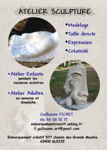 atelier sculpture  RECTO